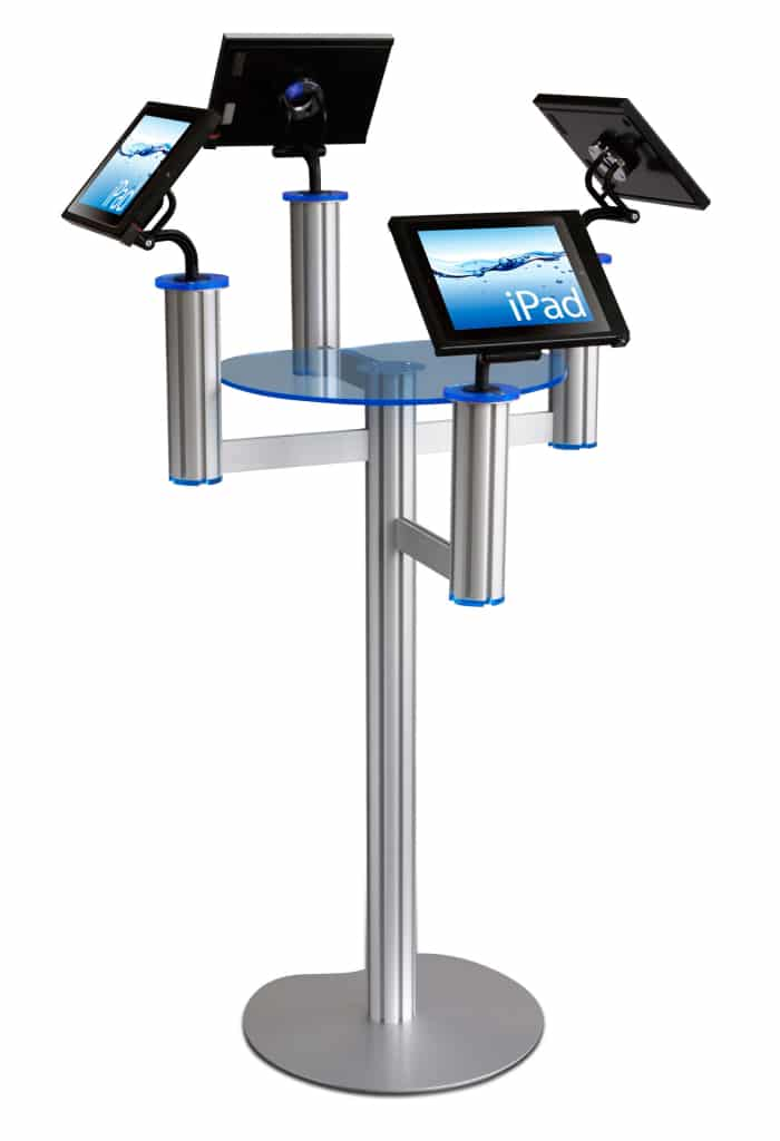 Exhibition Display Stands For Hire : Ipad stand hire from b rentals ltd