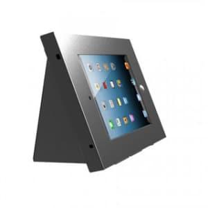black ipad desk stand