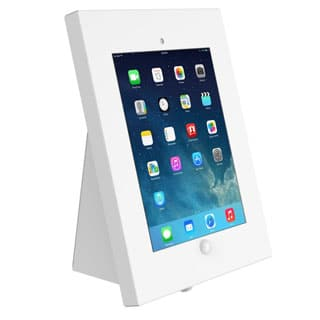 White iPad Desk Stand for Hire