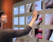 ipad wall display