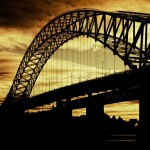Manchester silver jubilee bridge