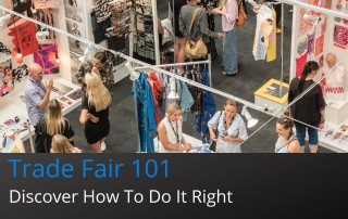 Clothing trade fair