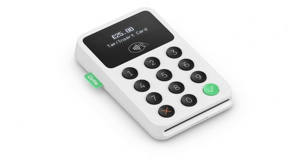iZettle POS card reader